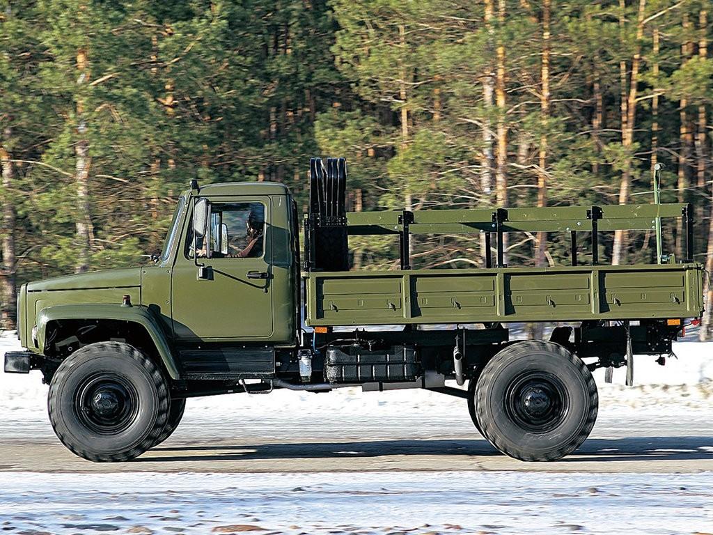 ГАЗ-3308 с открытым кузовом