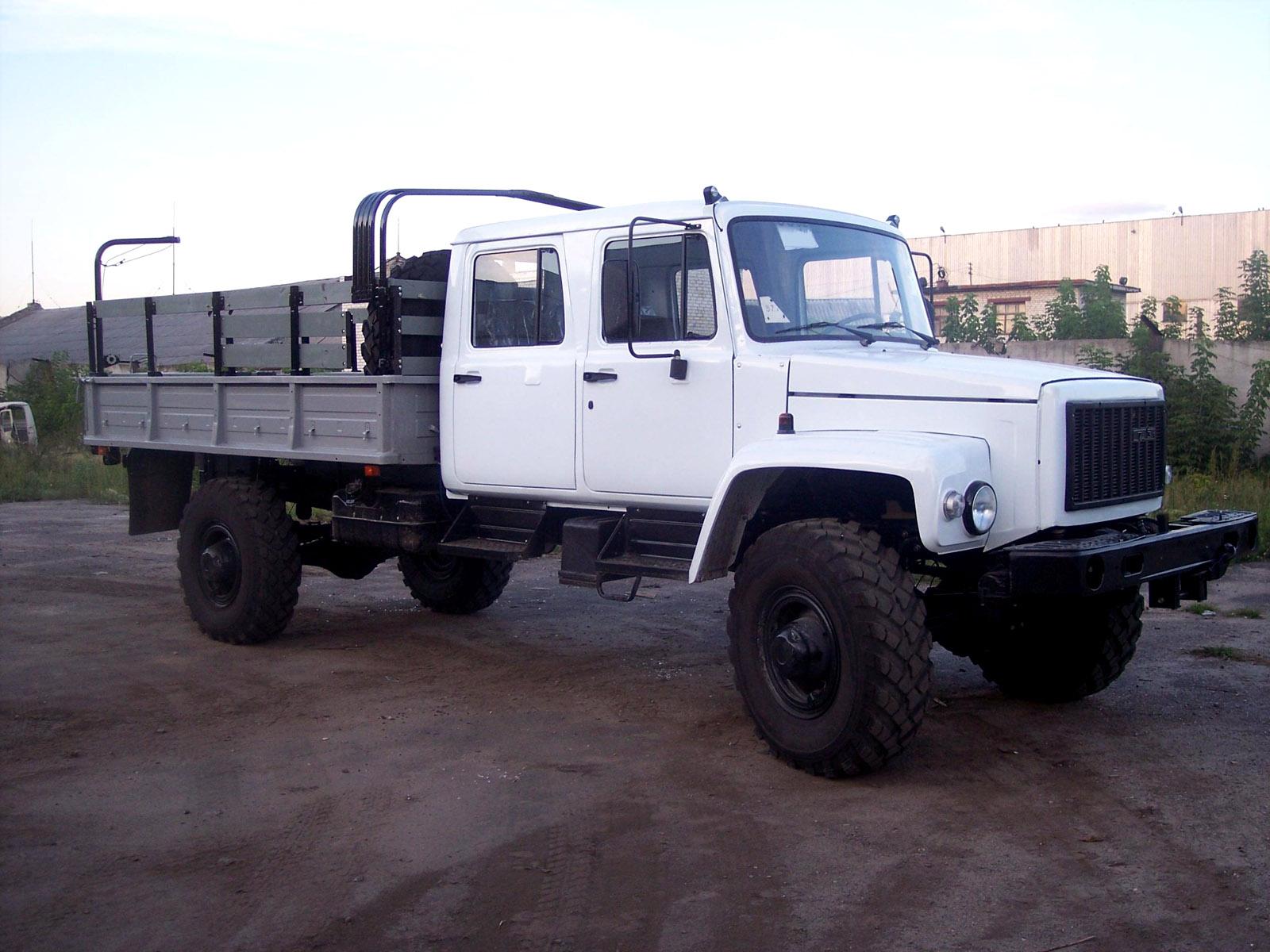 ГАЗ-3308 с укороченной платформой