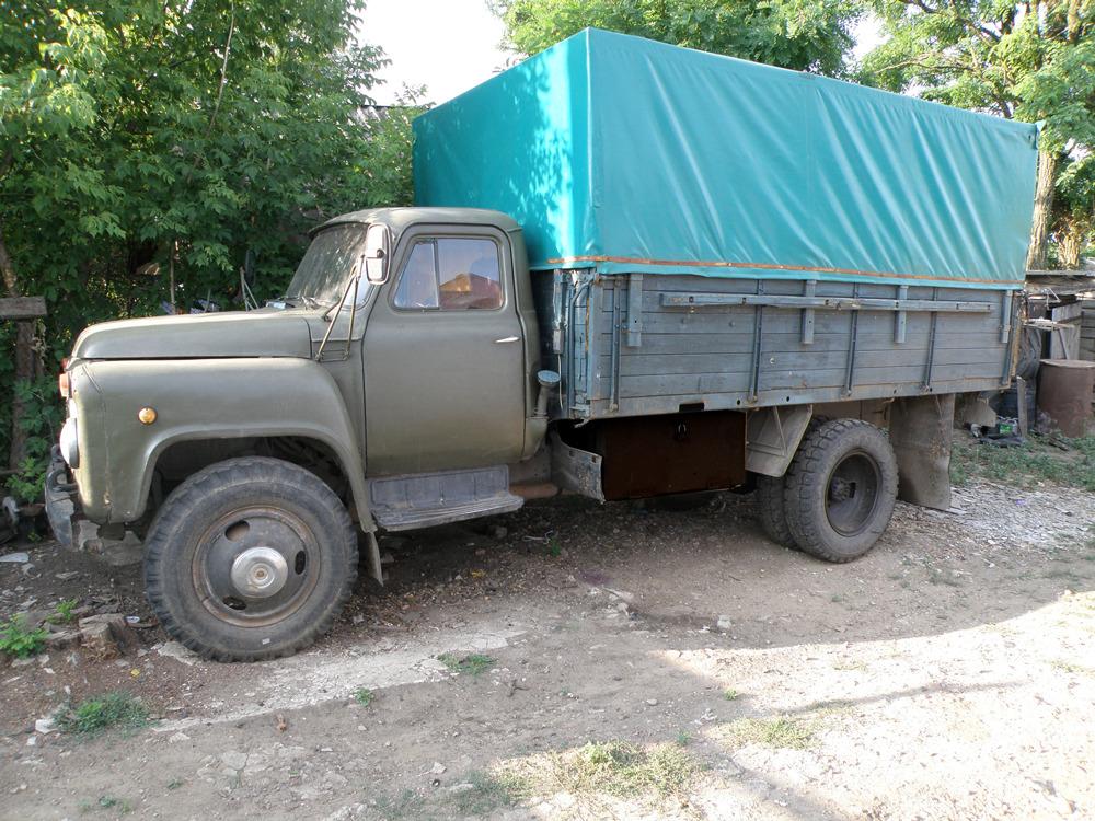 ГАЗ-53 с крытым кузовом
