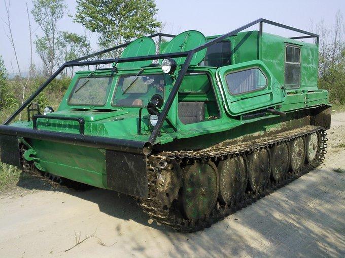 ГАЗ-71 с улучшенным каркасом
