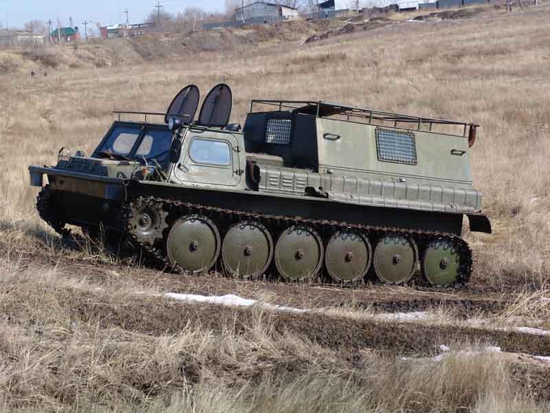 ГАЗ-71 в полевых условиях