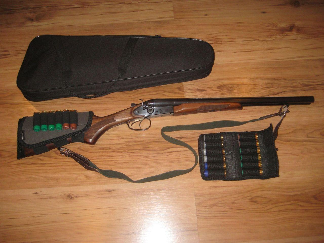 ИЖ-43 с сумкой