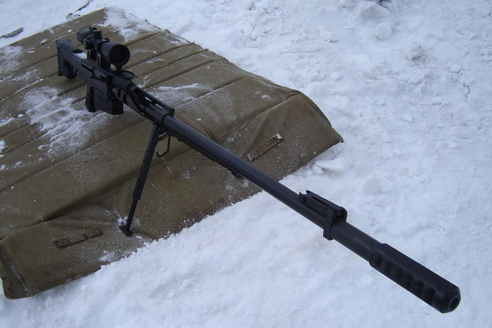 Использование винтовки Корд зимой