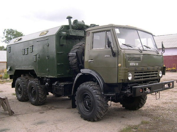 КамАЗ-4310 с жилым модулем