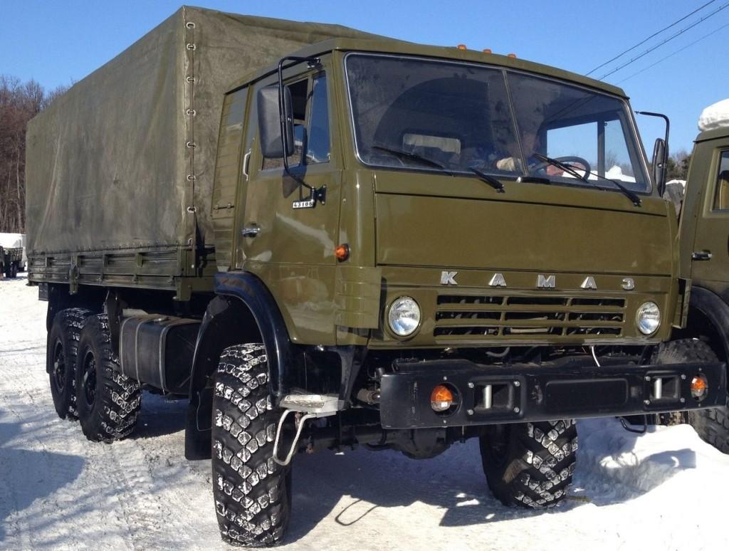 КамАЗ-4310 с крытым кузовом