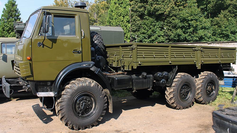 КамАЗ-4310 с открытым кузовом