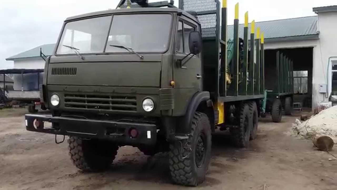 КамАЗ-4310 сортиментовоз