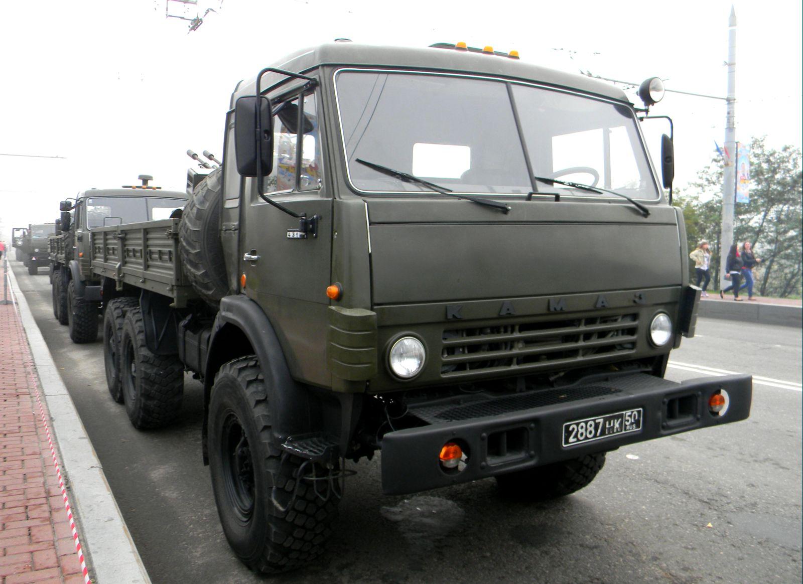 КамАЗ-43114 с открытым кузовом