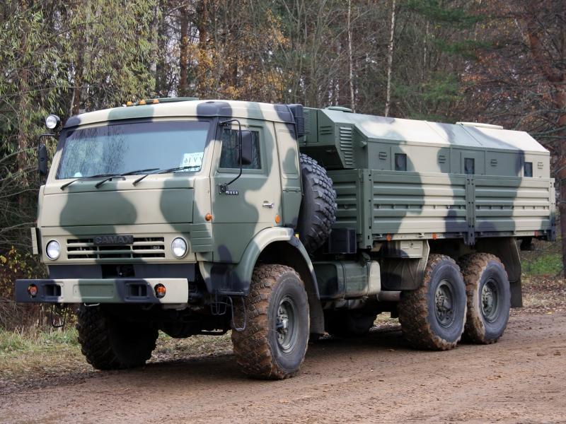 КамАЗ-5350 с жилым модулем