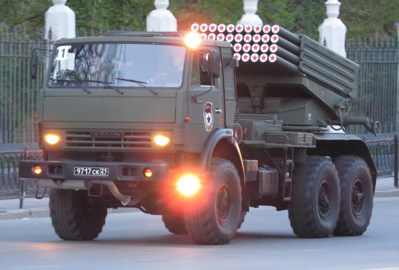 Военный Камаз Технические Характеристики и Расход Топлива  КамАЗ 5350 с ракетной установкой