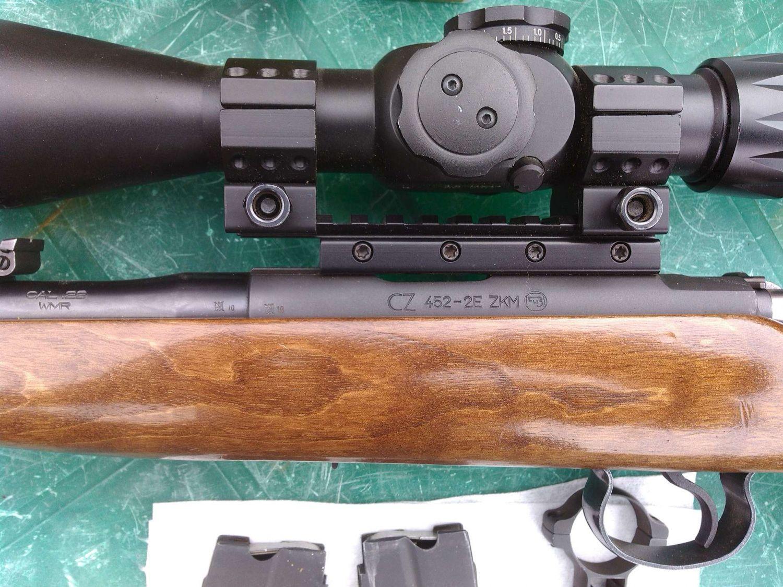 Крепление оптики CZ 452