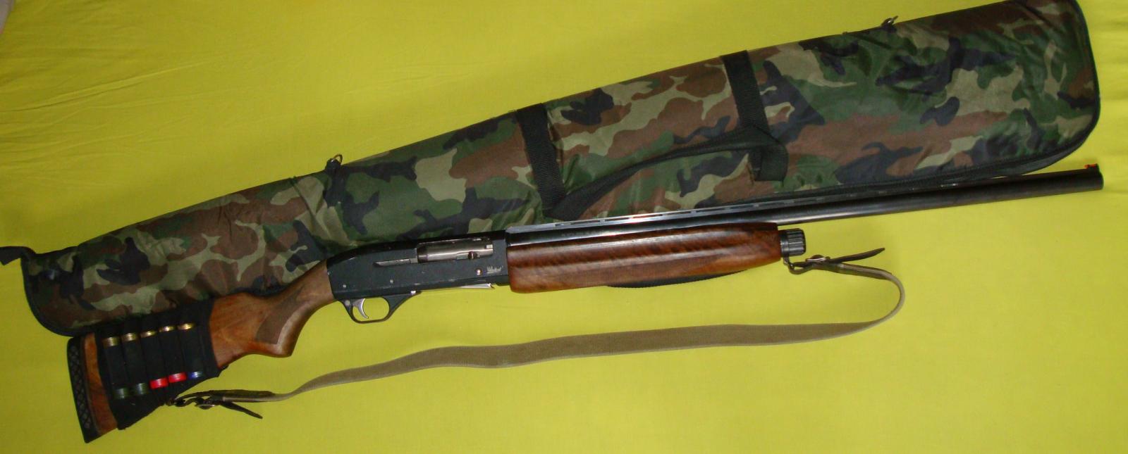МР-153 с охотничьей сумкой
