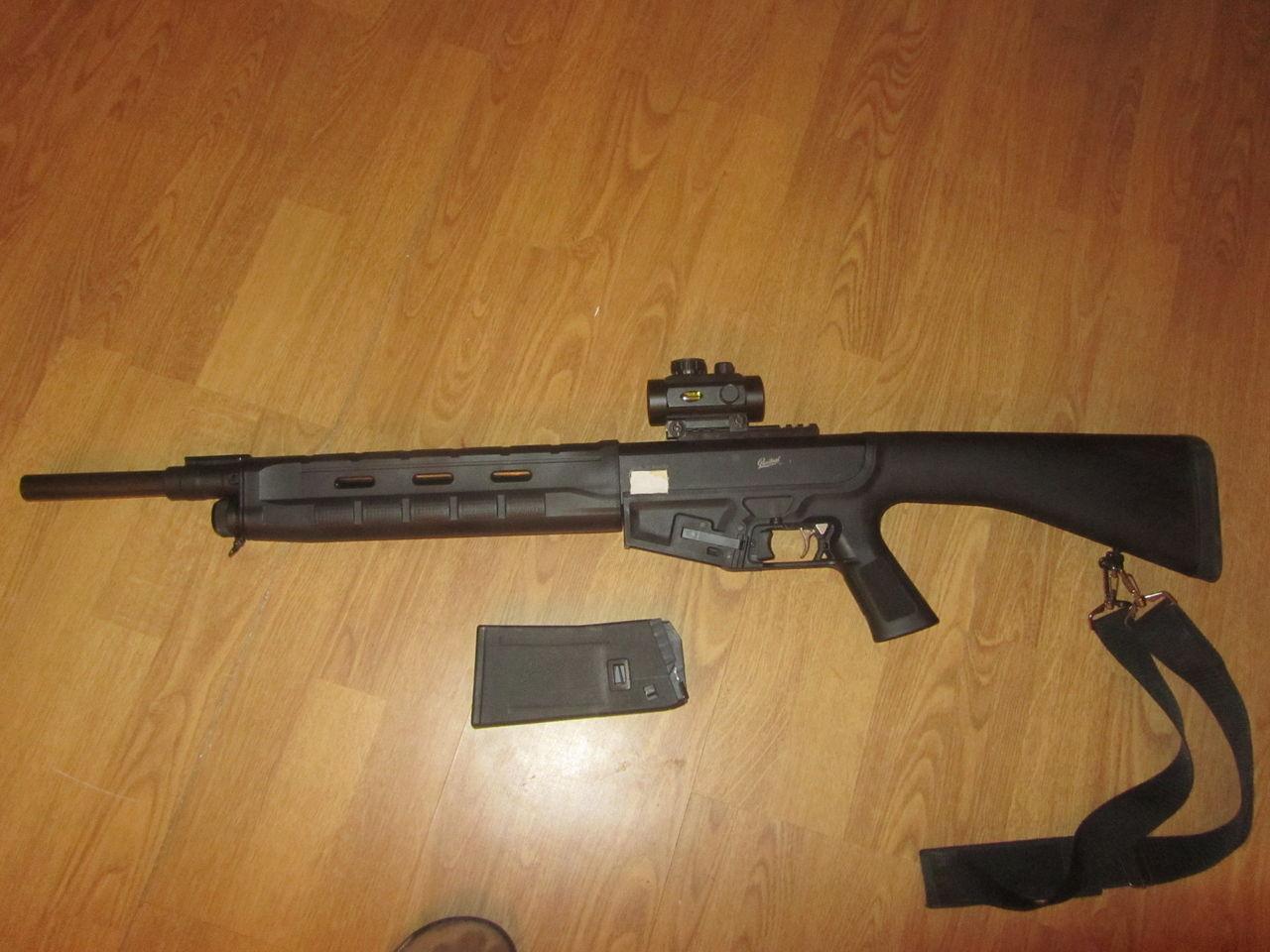 МР-155 с оптикой