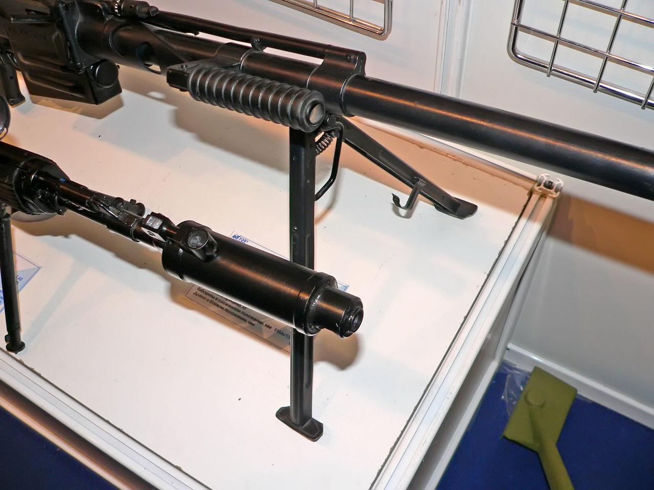 ОСВ-96 с глушителем