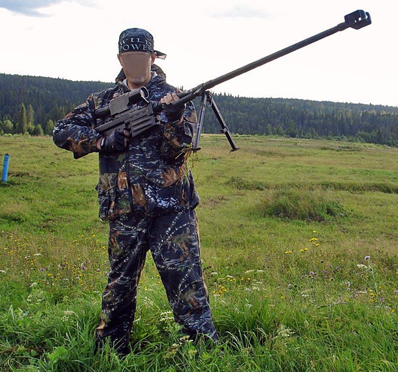 ОСВ-96 в полевых условиях