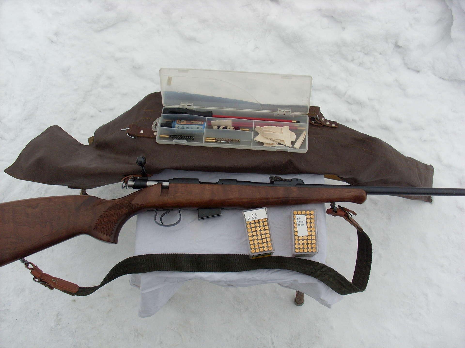 Охотничий комплект CZ 452