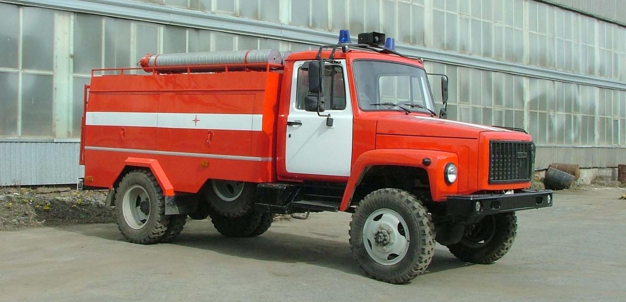 Пожарный ГАЗ-3307