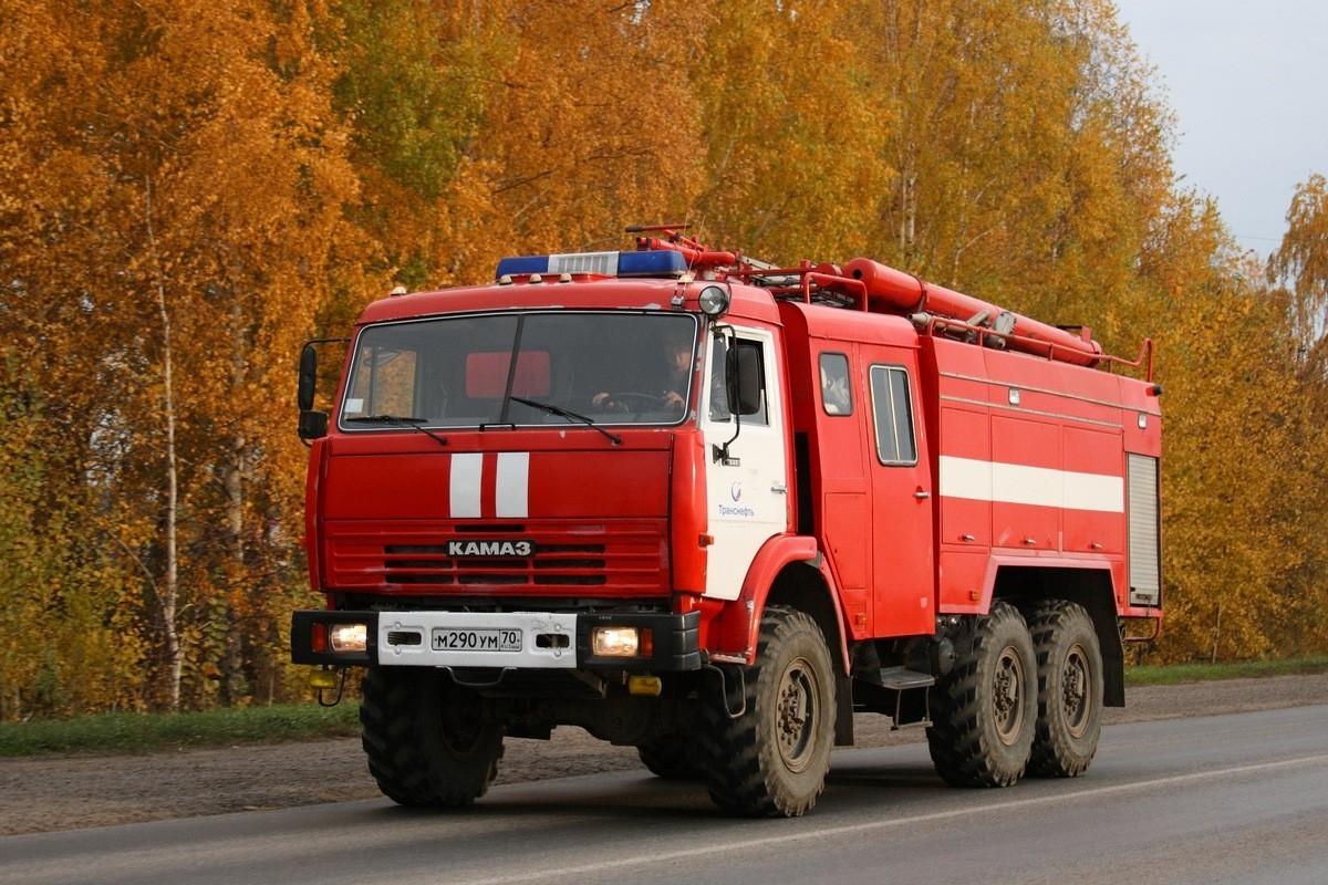 Пожарный КамАЗ-43114