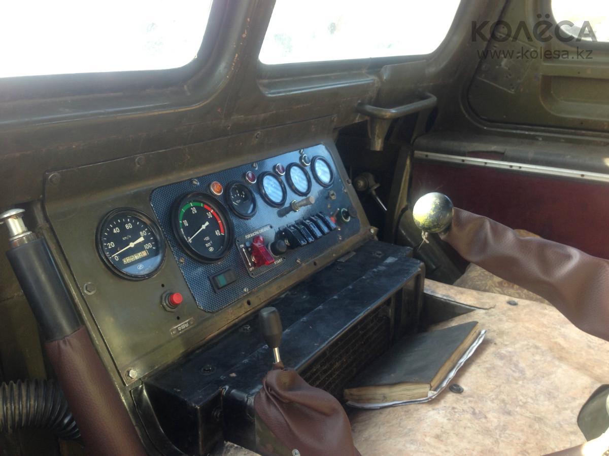 Приборная панель ГАЗ-71