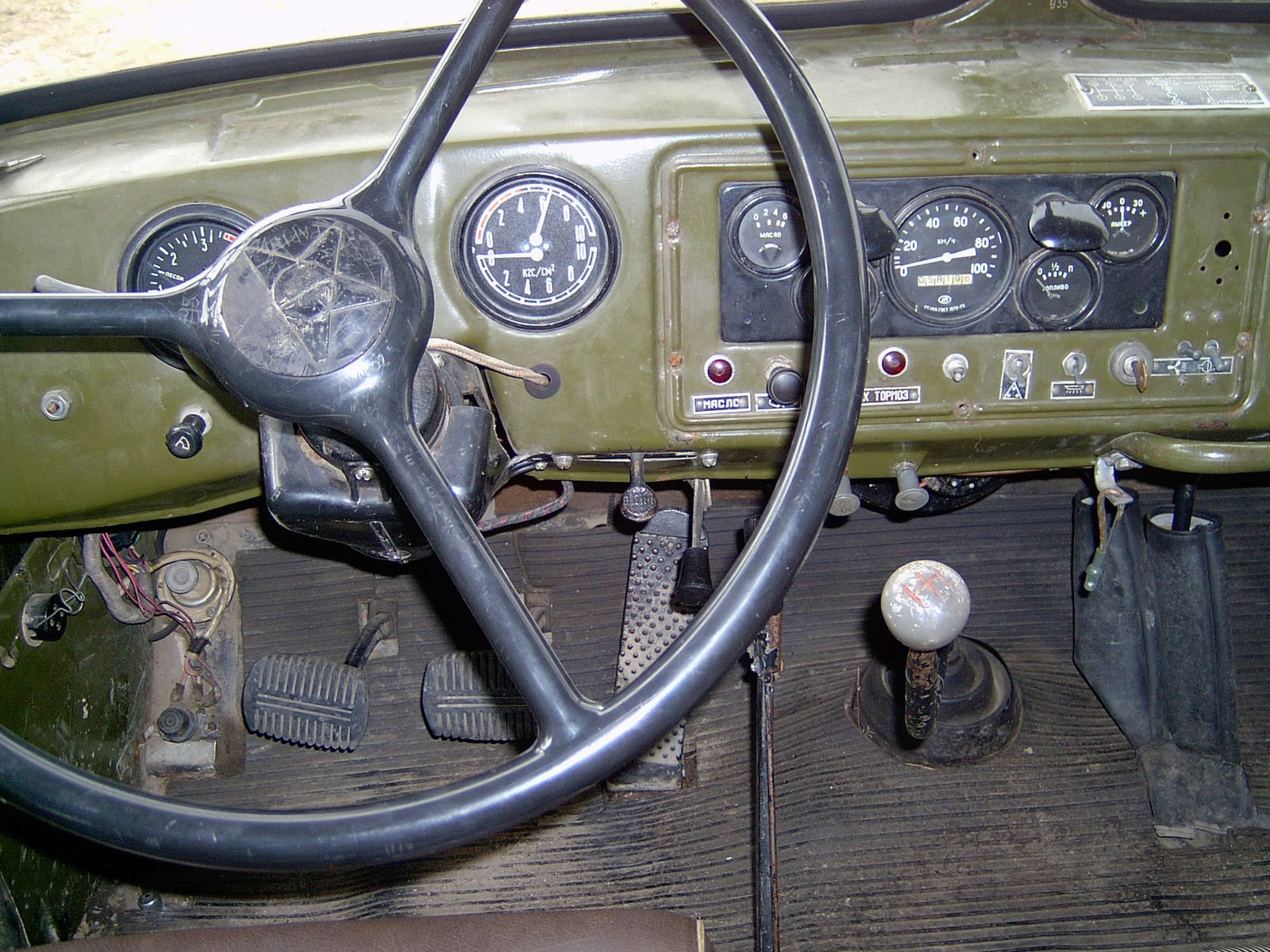 Приборная панель Урал-375
