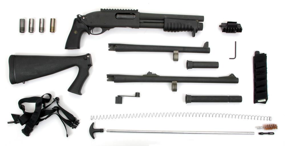 Разобранный Remington 870