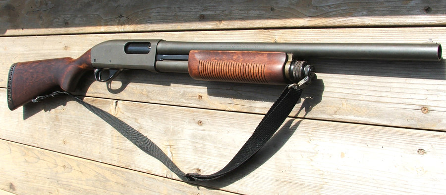 Remington 870 с ремнём