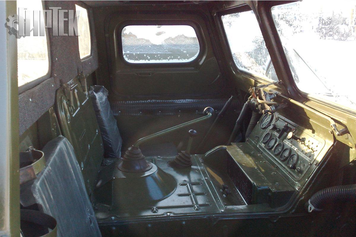 Салон ГАЗ-71