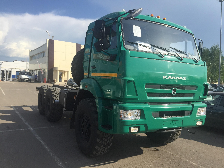 Шасси КамАЗ-5350