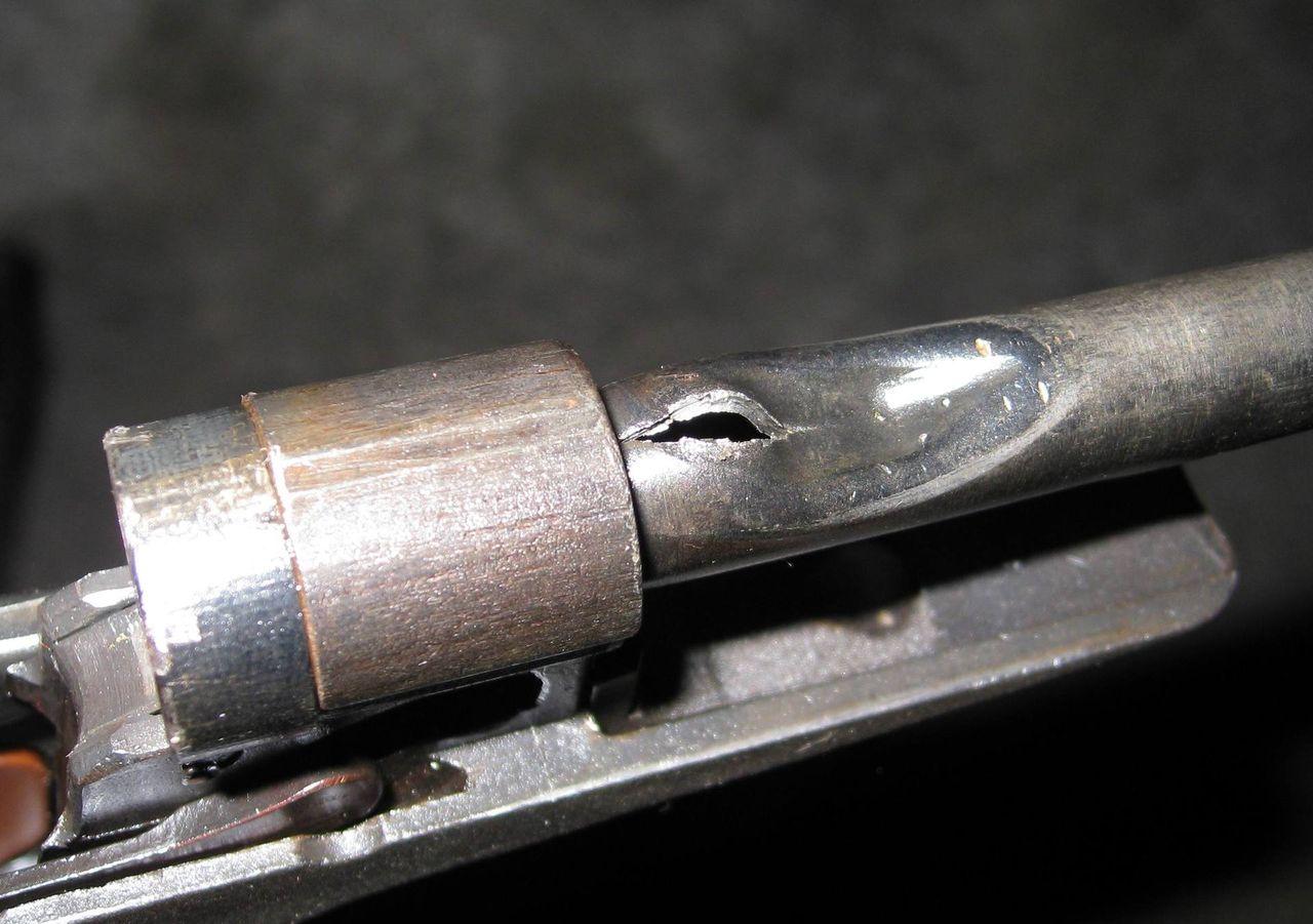 Сломанный ствола МР-78-9ТМ