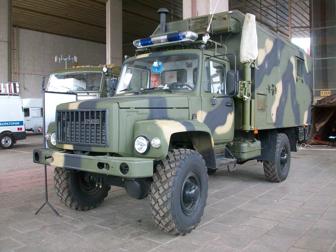Современный ГАЗ-3308