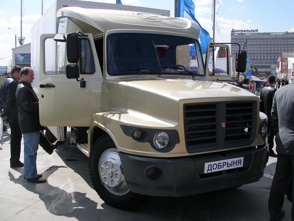 Тюнингованный ГАЗ-3307