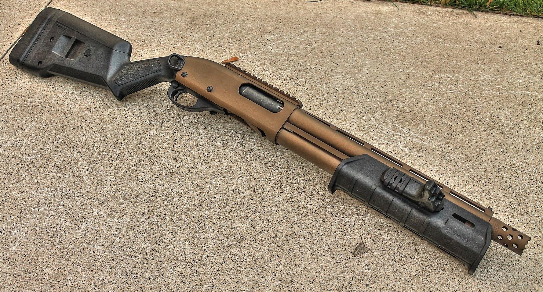 Тюнингованный Remington 870