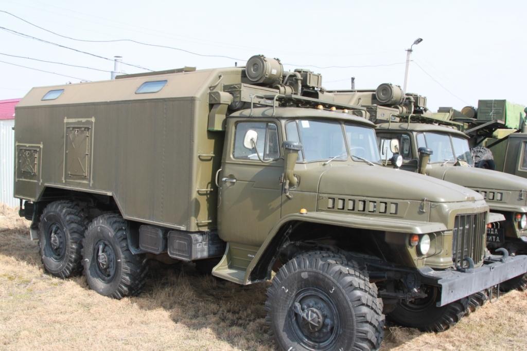 Урал-375 Кунг