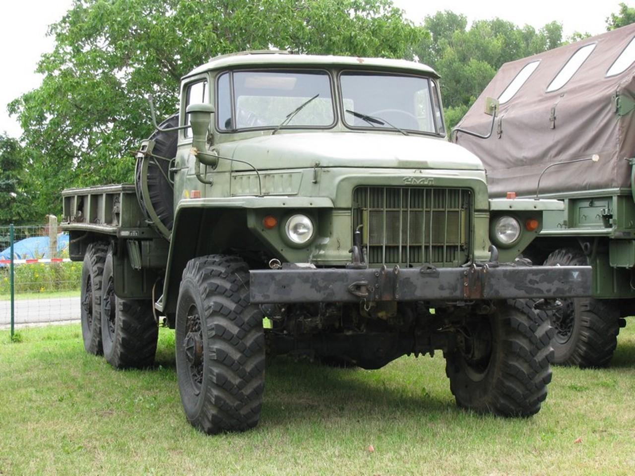 Урал-375 с открытым кузовом