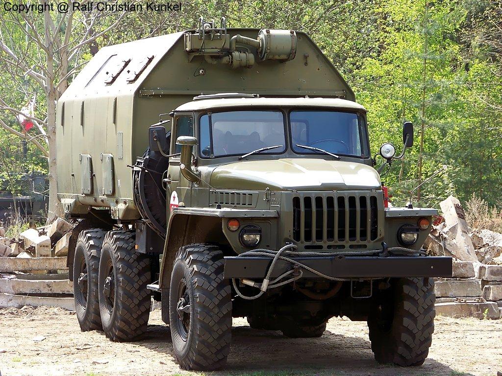 Урал-4320 КУНГ