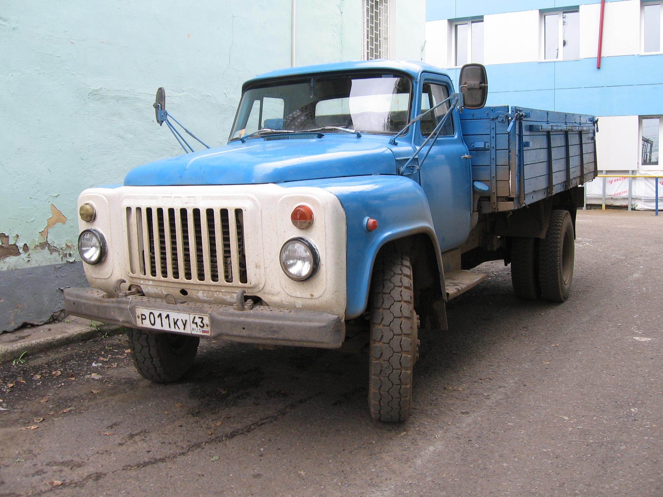 Внешний вид ГАЗ-53