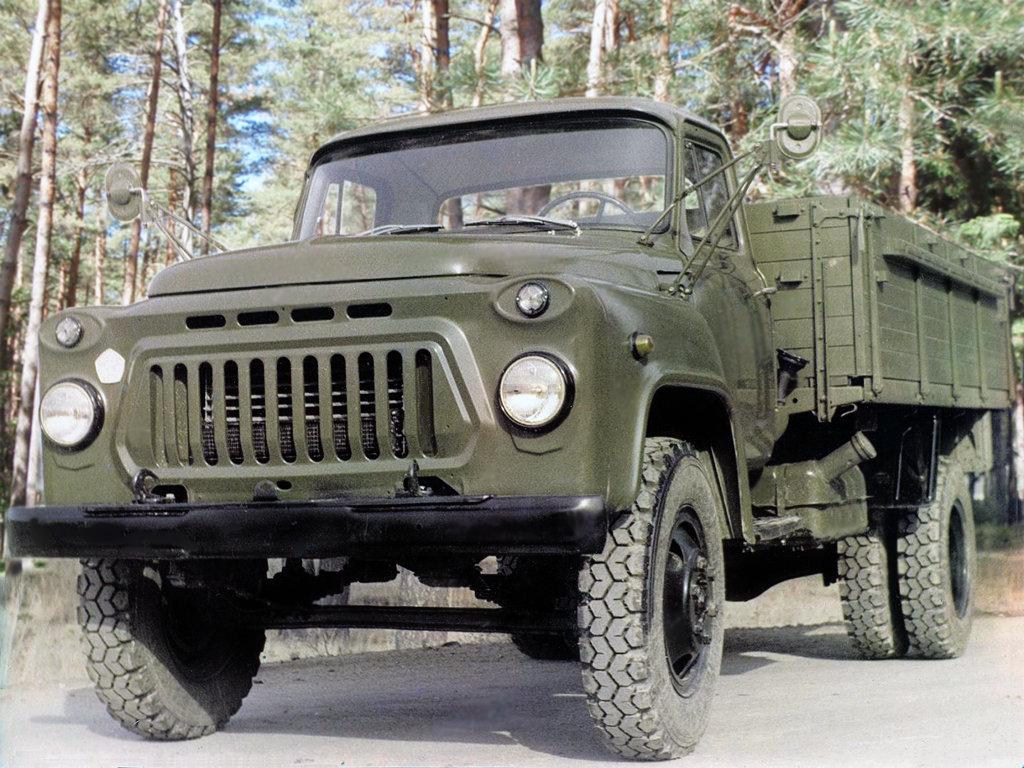 Военный ГАЗ-53