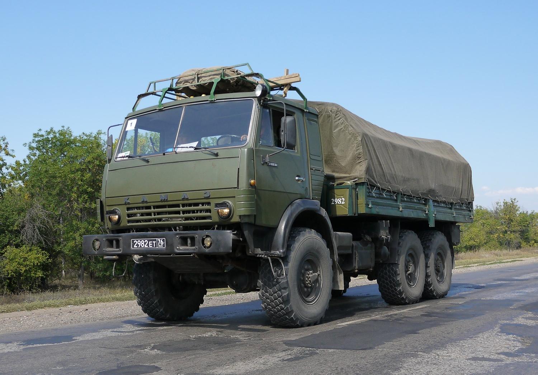 Военный КамАЗ-4310