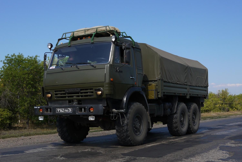 Военный КамАЗ-5350
