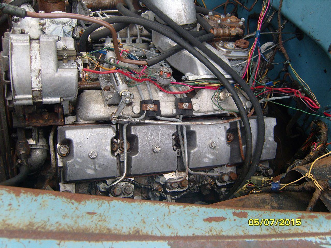 Двигатель ЗиЛ-133