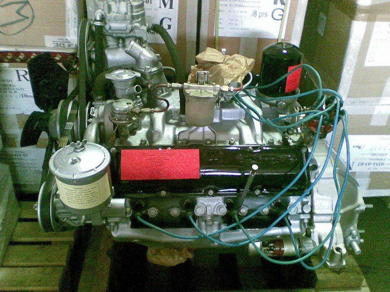 Двигатель ЗиЛ-4502