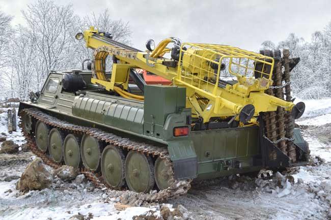 ГАЗ-34039 Бурильная установка