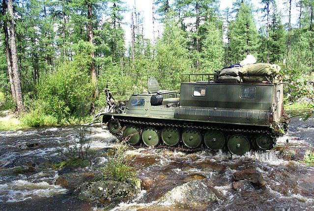 ГАЗ-34039 на бездорожье