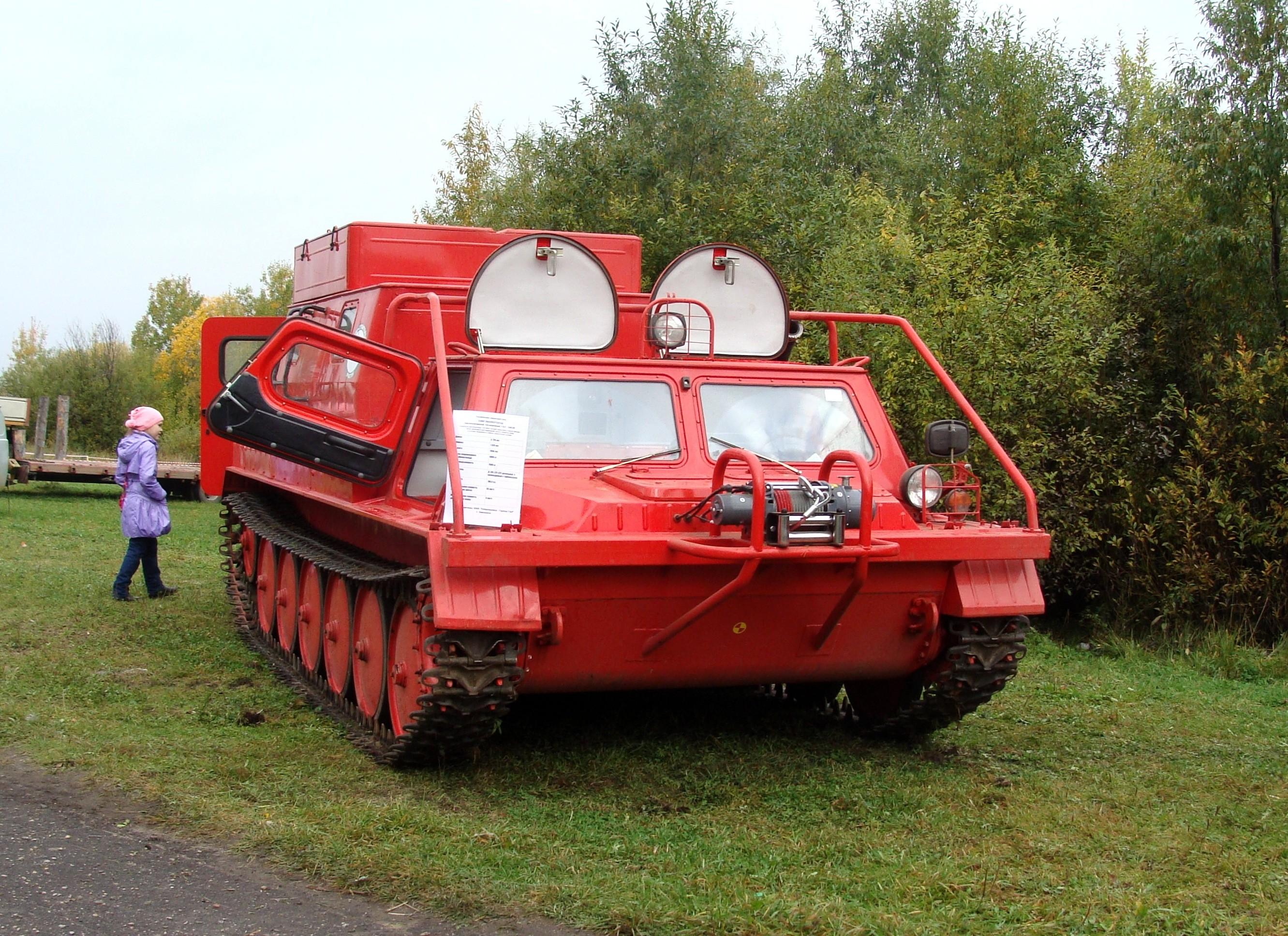ГАЗ-34039 пожарный