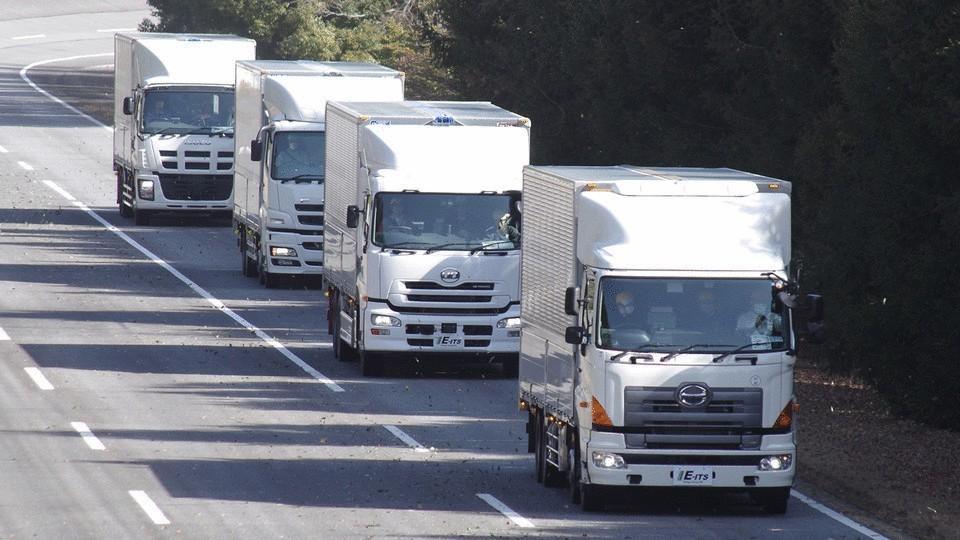 Испытания беспилотных грузовиков