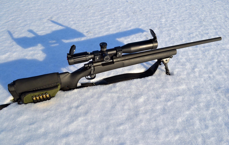 Использование Ремингтон 700 зимой