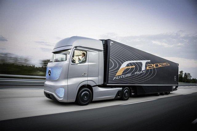 Концепт беспилотного грузовика