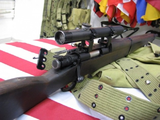 Модификация Springfield M109 с оптикой