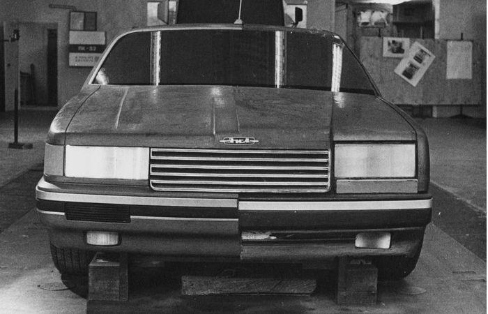 Первый макет ЗиЛ-4102