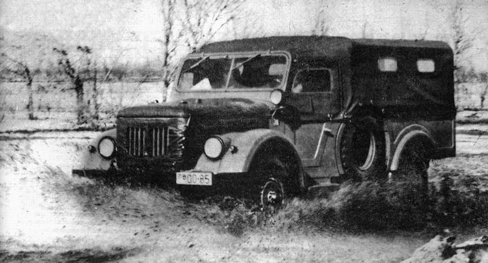 Первый образец ГАЗ-62